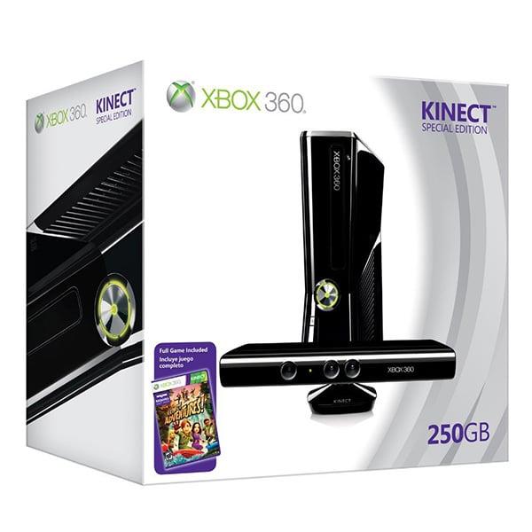 Xbox 360 kinect bundle the awesomer - Xbox 360 console kinect bundle ...