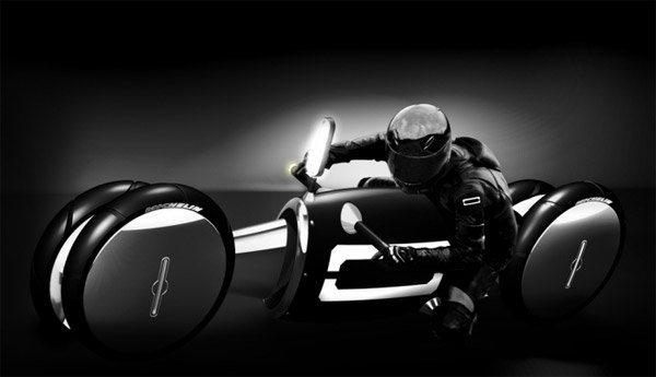 Zero Emissions 4 Wheel Bike