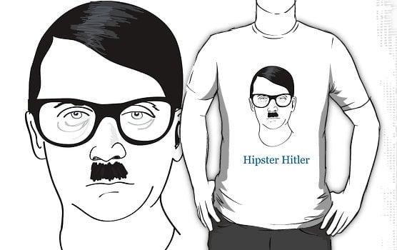 Hipster Hitler T-Shirts