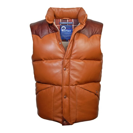 Penfield Leather Outback Vest