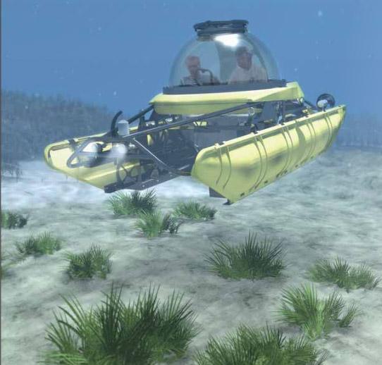 U-Boat Worx Personal Submarine