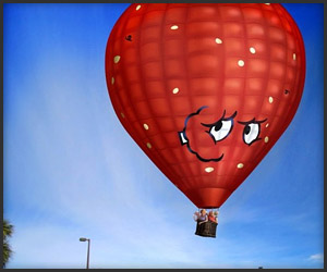 Meatwad Hot Air Balloon