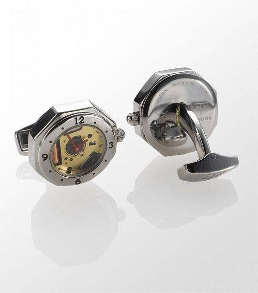 Skeleton Watch Cufflinks