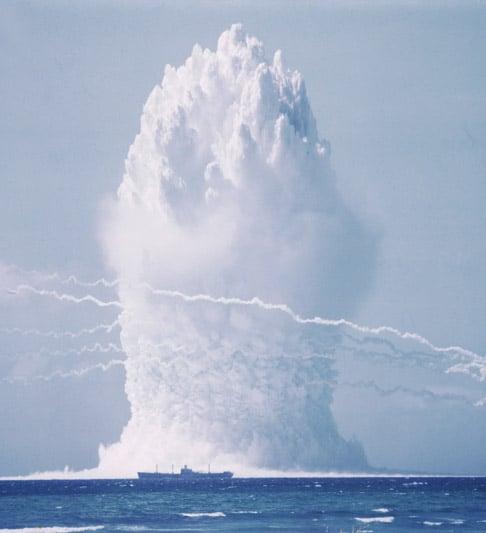 Vintage Atom Bomb Photography