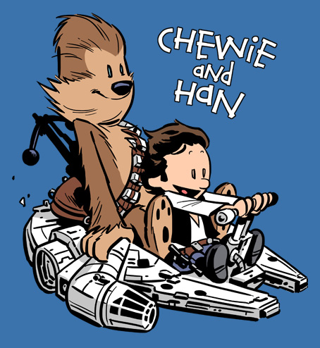 Chewie and Han T-Shirt