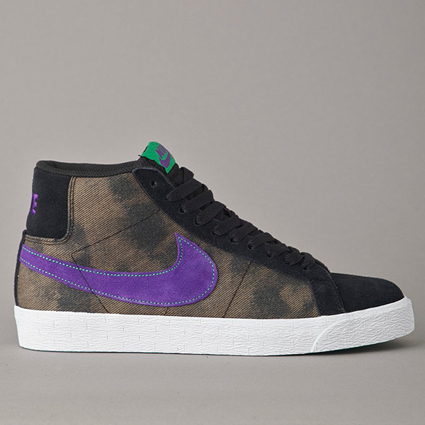 Nike SB Blazer High Black/Purple