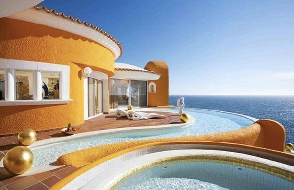 villa colani the awesomer. Black Bedroom Furniture Sets. Home Design Ideas