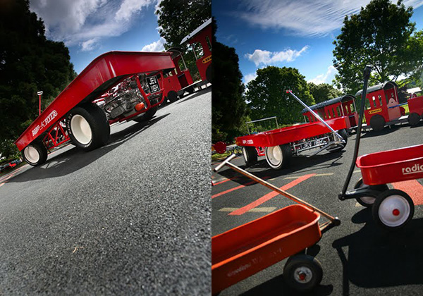 Huge Red Wagon