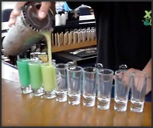 Nine Cocktails, One Shaker