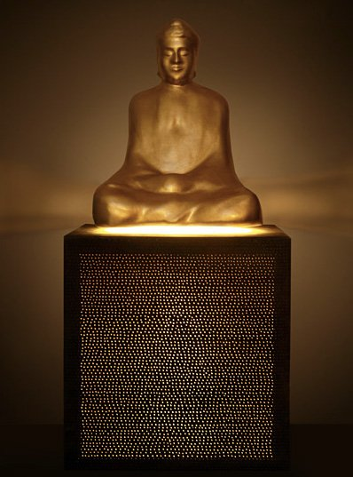 TON Floating Buddha Speakers