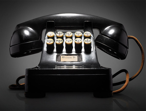 Pushbutton Phone - photo: Dan Forbes