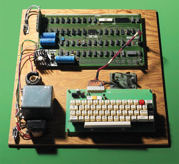 Apple 1 Computer - photo: Dan Forbes