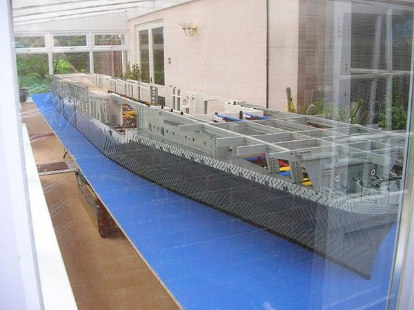 LEGO USS Intrepid