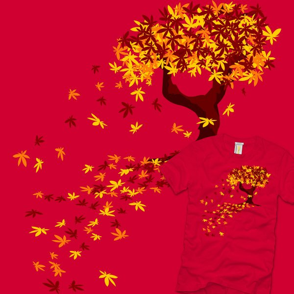 RIPT T-Shirt: Autumn Cometh by Jasneko
