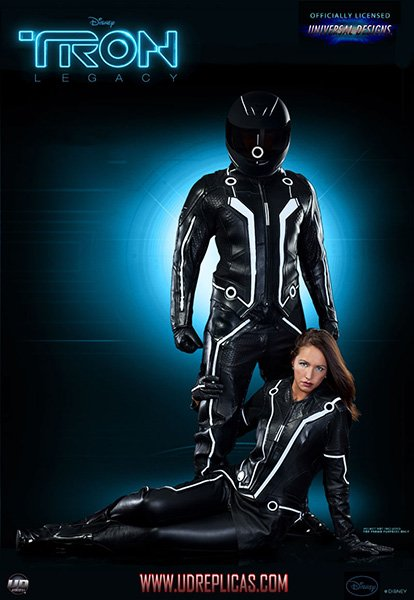 Sam Flynn Tron Motorcycle Suit The Awesomer