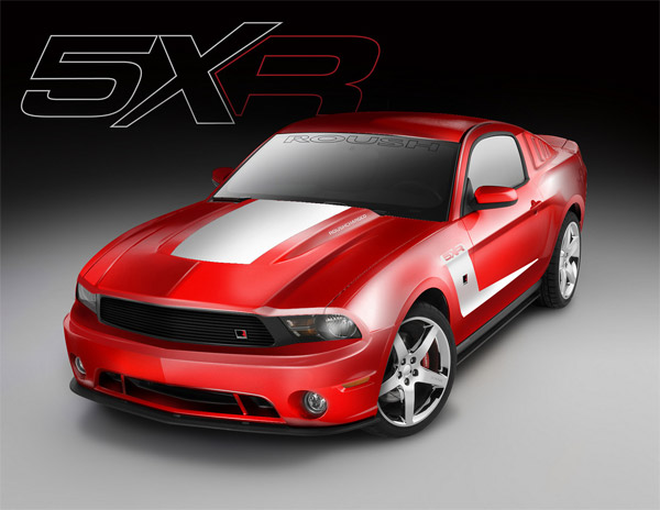 2011 ROUSH 5XR Mustang