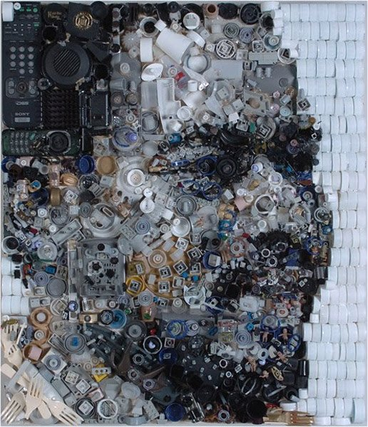 Zac Freeman Junk Portraits