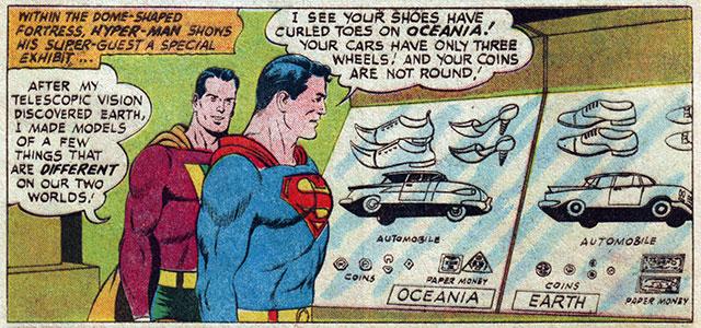 Comic Book Cartography