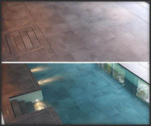 The Disappearing Swimming Pool