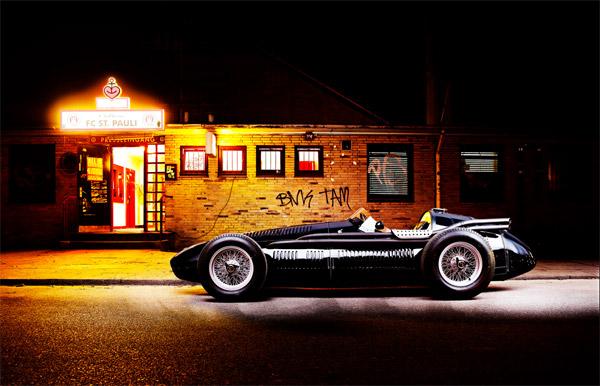 Vintage Maserati 250f