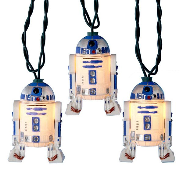 R2-D2 Holiday Lights