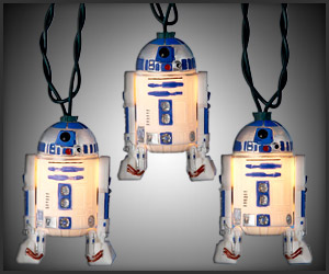 R2-D2 Holiday Lights