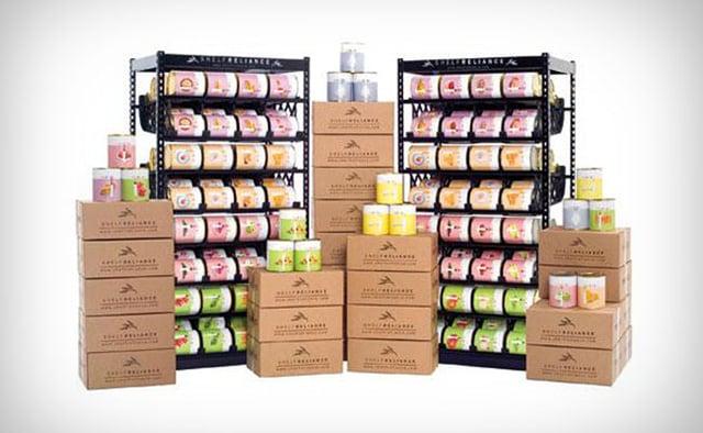 Shelf Reliance 1Yr Food Supply