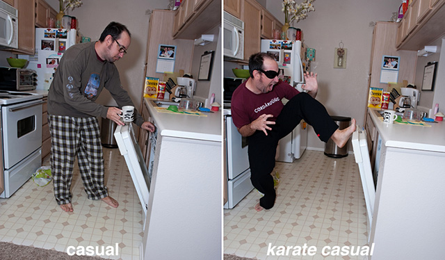 Karate Casual Pants