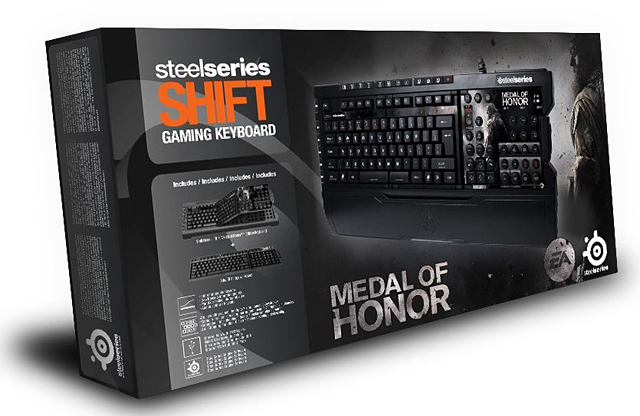 SteelSeries Shift MoH Edition