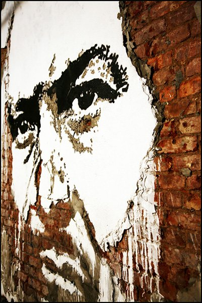 Wall Portraits by Vhils