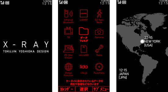 iida X-Ray Phone