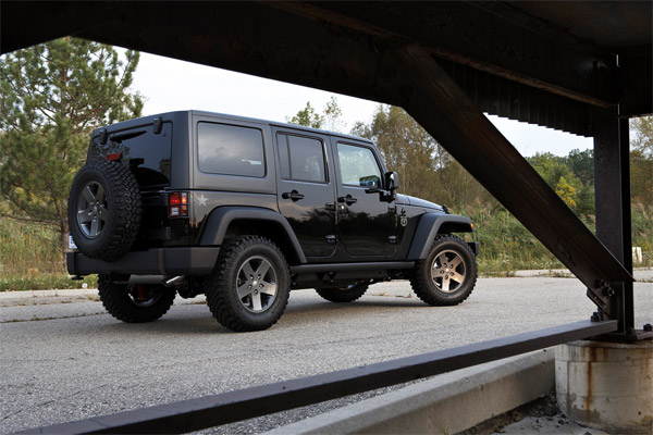 Jeep Wrangler CoD: Black Ops