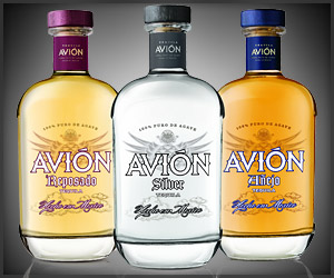 Tequila avion for Avion tequila mixed drinks