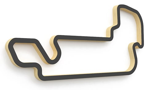 Linear Edge Track Art