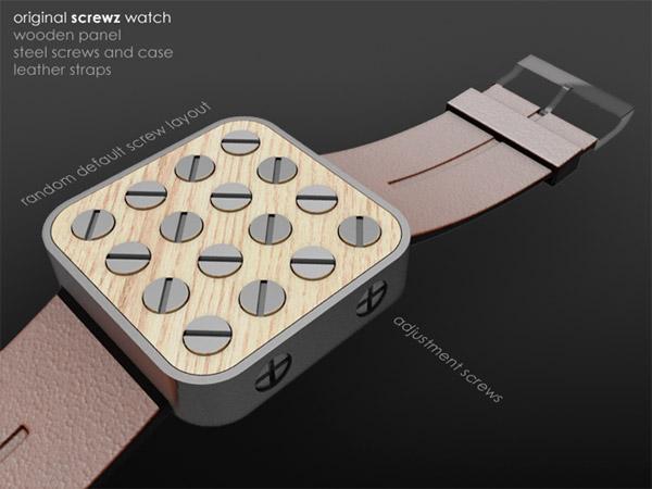 Screwz Watch Concept