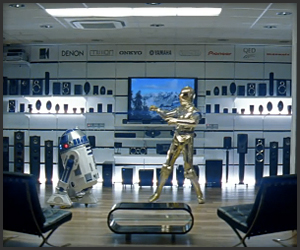 Droids at the Electronics Store