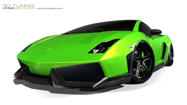 Lamborghini LP-540 Grn Goblin