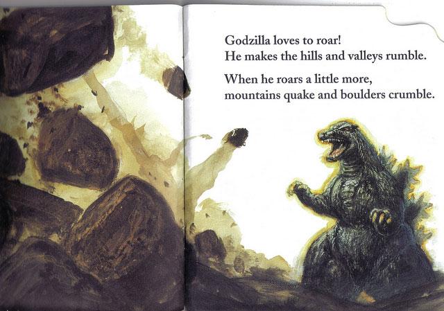 Godzilla Likes To Roar