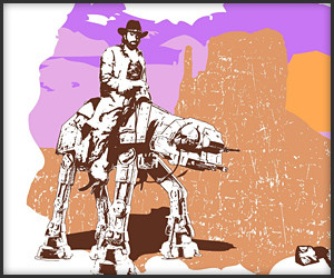 AT-AT Walker Texas Ranger