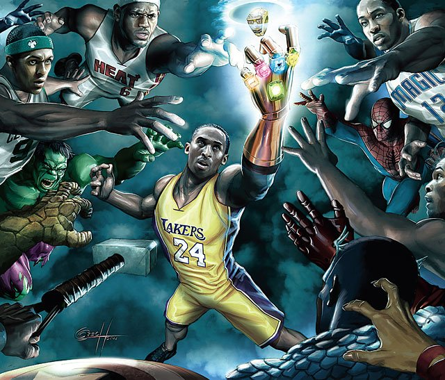 Marvel x NBA