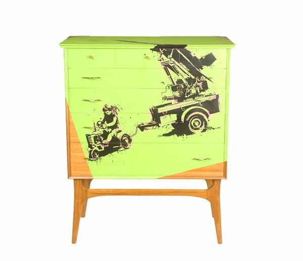 Urbankind Graffiti Furniture