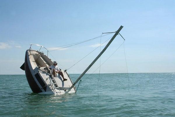 Perpetually Capsizing Boat