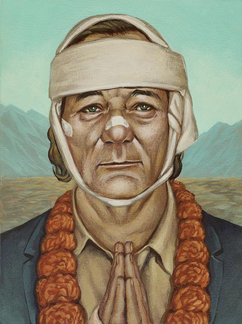 Bill Murray x Wes Anderson