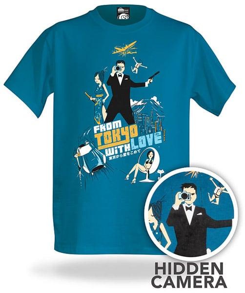 Electronic Spy Camera T-Shirt