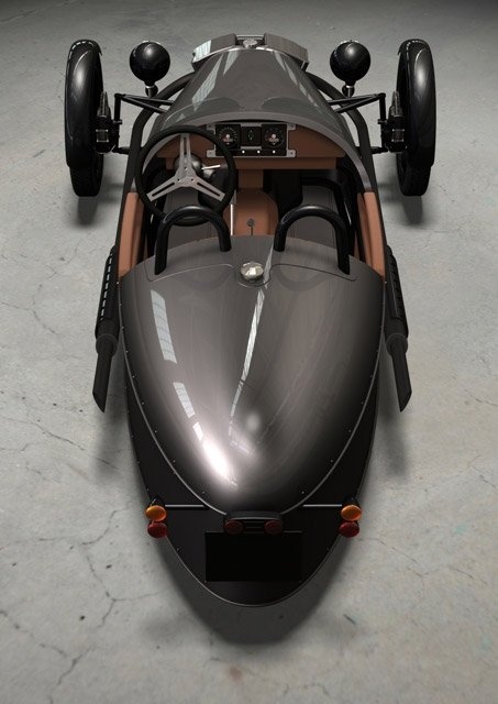 Morgan 3 Wheeler 2011. 2011 Morgan 3-Wheeler