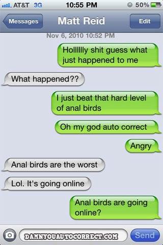 Damn You, Auto Correct!