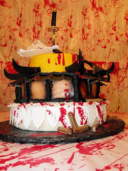 Kill Bill Birthday Cake