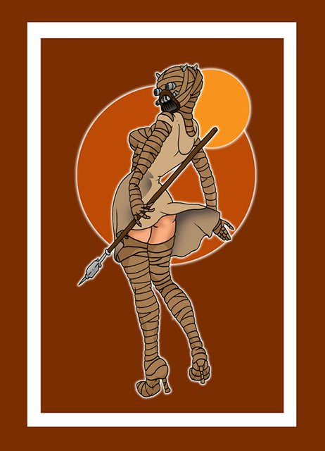 Star Wars Pinups