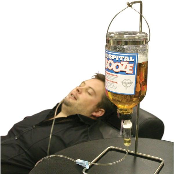 Hospital Bedside Booze Drip