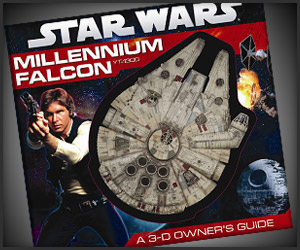 Win! Millennium Falcon 3D Book